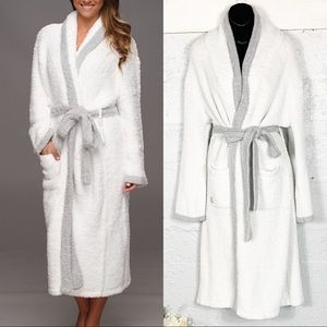 Barefoot Dreams Cozy Chic Contrast Trim Robes